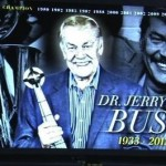 So Touching! Kobe &amp; Lakers Pay Tribute To Dr. Jerry Buss With Video Before Game