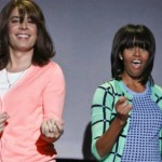 "Michelle Obama & Jimmy Fallon's ""The Evolution of Mom Dancing"""