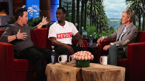 Diddy Admits To Being A Bed Wetter On 'Ellen'