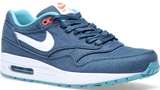 Nike Air Max 1 – Turquoise/White/Bright Crimson